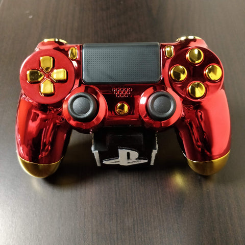 Official PS4 Controller V2 Custom Ironman Themed