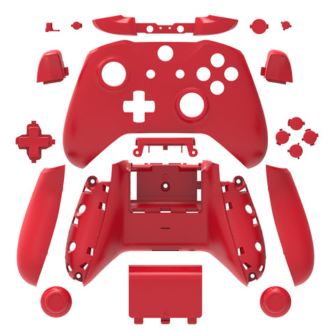 Brand New Xbox One S Controller Red Custom Replacement Full Shell