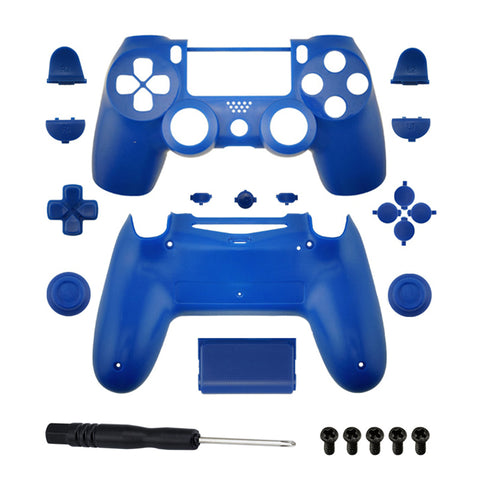 Brand New PS4 Slim/Pro JDS 040 V2 Controller Blue Custom Replacement Full Shell