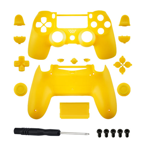 Brand New PS4 Slim/Pro JDS 040 V2 Controller Yellow Custom Replacement Full Shel