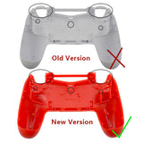 Brand New PS4 Slim/Pro JDS 040 V2 Controller Shadow Red Custom Front Shell