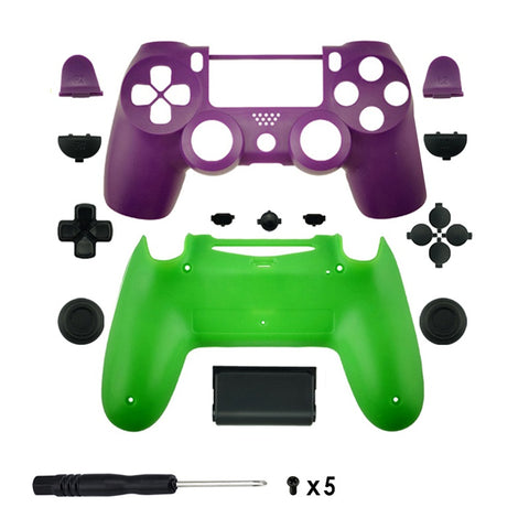 New PS4 Slim/Pro JDS 040 V2 Controller The Joker Custom Replacement Full Shell