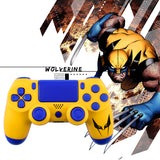 New PS4 Slim/Pro JDS 040 V2 Controller X-Men Wolverine Custom Replacement Full S