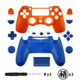 New PS4 Slim/Pro JDS 040 V2 Controller Dragonball Z Custom Replacement Full Shel