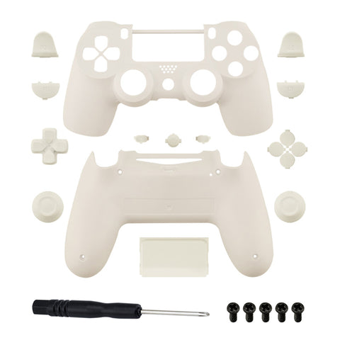 Brand New PS4 Slim/Pro JDS 040 V2 Controller White Custom Replacement Full Shell