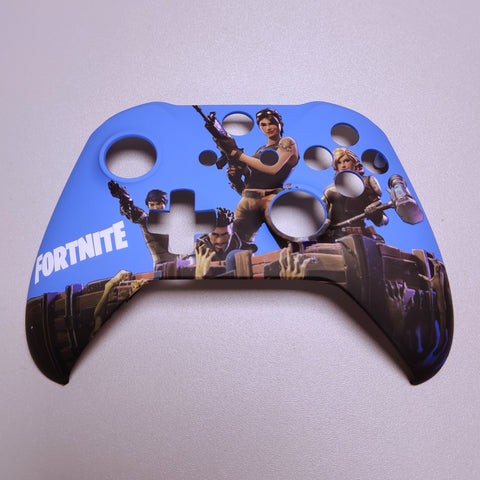 Brand New Xbox One S Custom Fortnite Front Shell Hydrodipped by Primzstar Modz