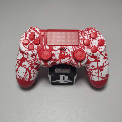 Official PS4 Controller V2 Custom Blood Splatter