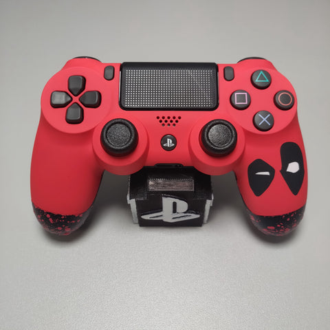 Official PS4 Controller V2 Custom Deadpool Themed