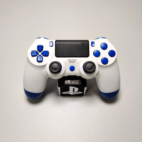 Official PS4 Controller V2 Custom Blue and White Themed