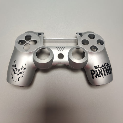 Black Panther Airbrush Front Shell PS4 Slim/Pro JDS 040 V2 Custom Controller