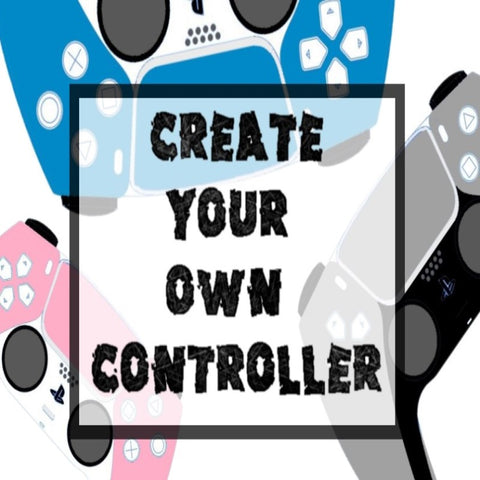 Customise Your Own PS5 Dualsense Controller