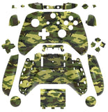 Brand New Xbox One S Controller Camouflage Green Custom Replacement Full Shell