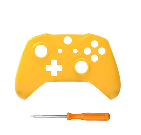 Brand New Xbox One S Controller Yellow Custom Replacement Front Shell