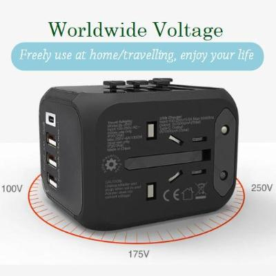 Fast Smart Charger Universal Travel Adapter with Permanent Protection