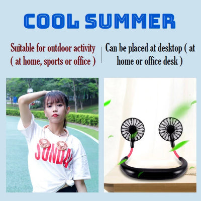 Neck Fan - Hands Free Fan