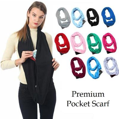 Pop Fashion™ Premium Pocket Scarf