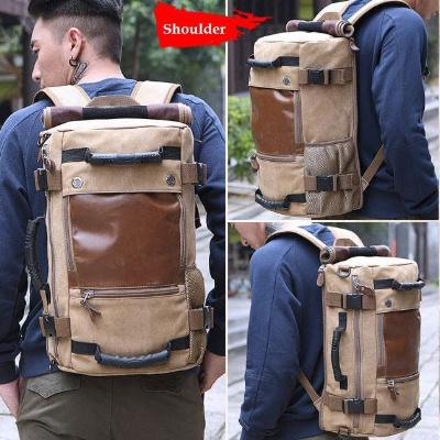 Multi Function Large Capacity Korean Canvas Backpack