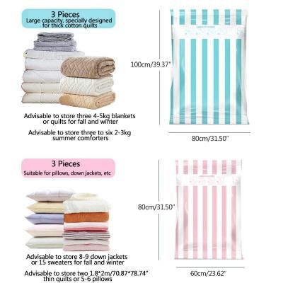 Space Saving Vacuum Storage Bags (12Pcs/Set)