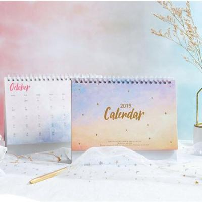 2019 Calendar Planning Notes Twilight Dream
