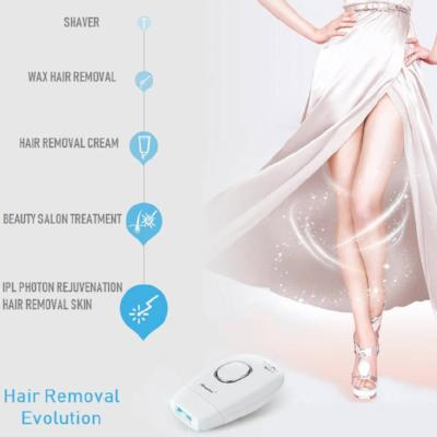 Portable IPL Laser Hair Removal