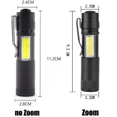 Mini Portable Pocket Flashlight Torch Lantern Battery Operated