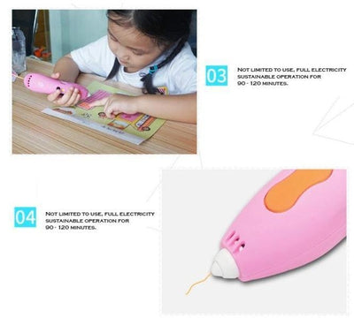 The 5th Generation of Rechargeable 3D Printing Pen
