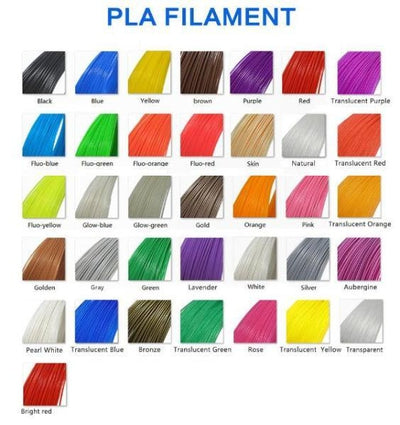 3D Printing Pen PLA Filament Color