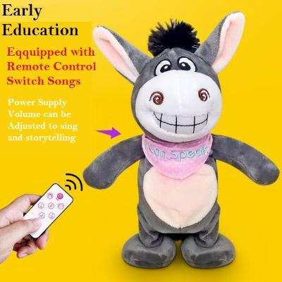 Adorable Walking and Talk Back Donkey Plush Toys