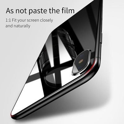 Premium Front Back Screen Protector Toughened Tempered Glass Film For iPhone X