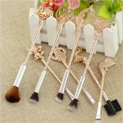 "Game of Throne ""Winter is Coming"" Makeup Cosmetic Brush Collection Set (8 Pcs)"
