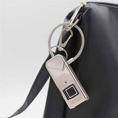 Fingerprint Biometric Waterproof Anti-theft Padlock