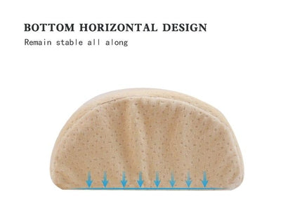 Half-Moon Memory Foam Maternity Knee Pillow