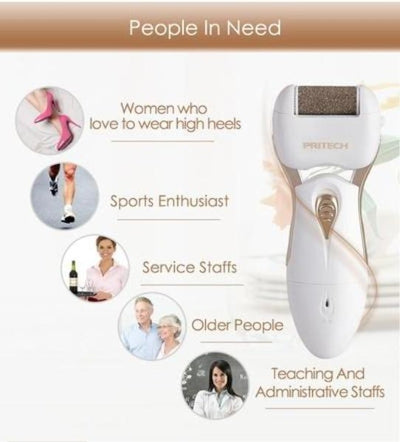 Electric pedicure machine feet callus remover