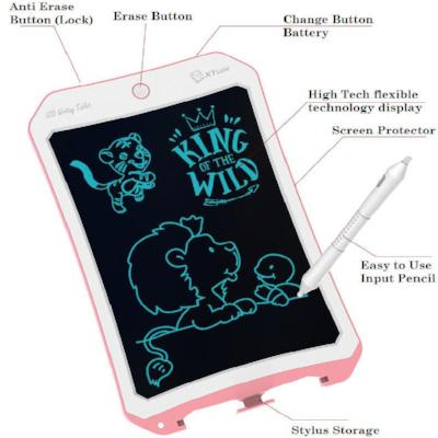 LCD Handwriting Tablet Doodle Electronic Dust Free Drawing Board