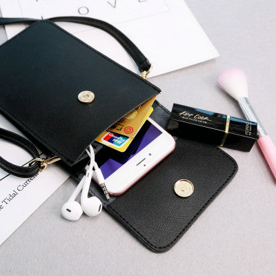 Touch Screen Smartphone Premium Leather Purse