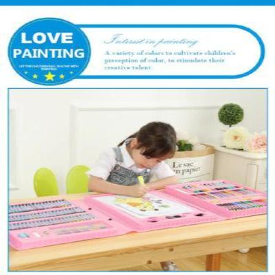 Deluxe Children's Painting Art Supplies Set