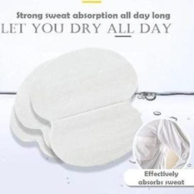 Fashion Essential Disposable Breathable Underarms Sweat Absorbent Stickers Pad