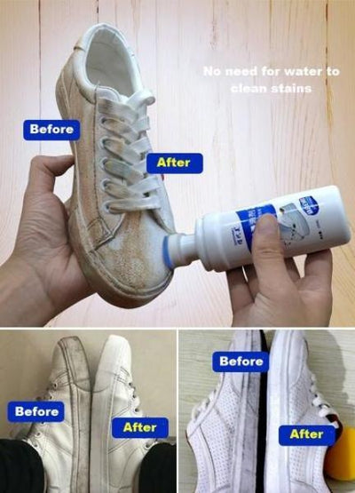 Instant white shoes cleaner