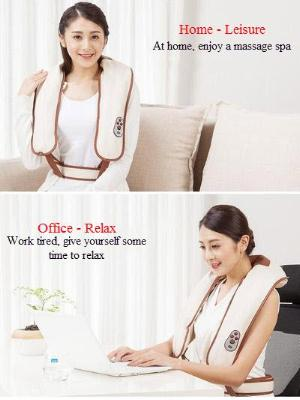 Electric Cervical Massager Beating Shawl for Back,Neck,Waist and Shoulder