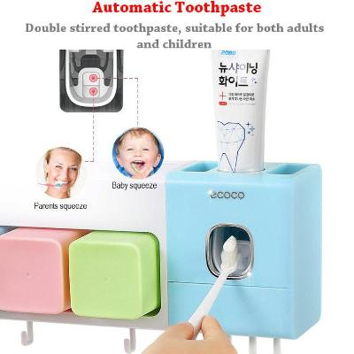 UV Sterilizer Toothbrush Holder Hanging Suction Rack