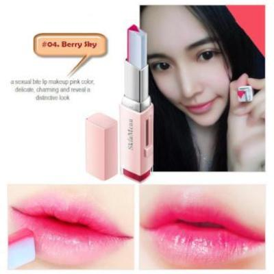 Two Tone Lip Bar Waterproof Long Lasting Smooth Moisturizing