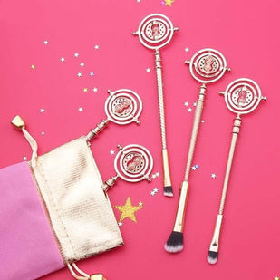 Magical Rotating Time Turner Hourglass Makeup Brushes