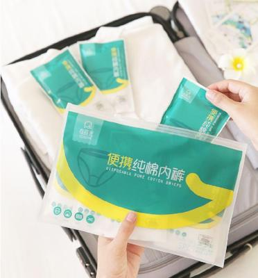 Disposable Soft Cotton Underwear Men and Women for Travel