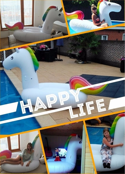 Inflatable Giant Unicorn Float
