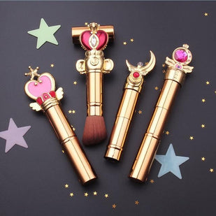 Sailor Moon Jewelry Telescopic Makeup Brushes (Limited Edition)