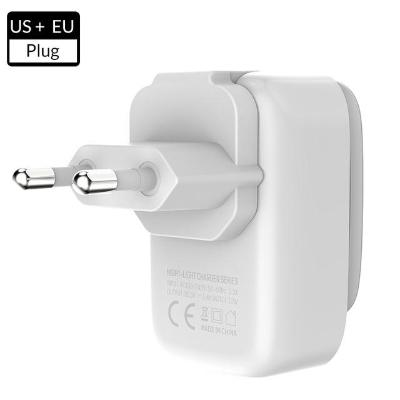 4-Port USB Charger LED Night Lamp