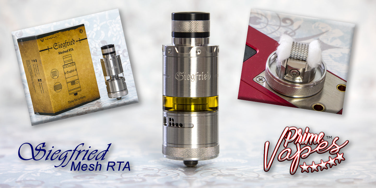 Vapefly Siegfried Mesh RTA Clouds and Flavour
