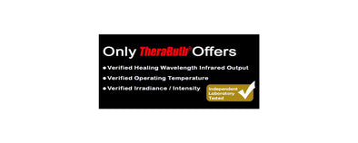 TheraBulb Receives Lab Certification for Near Infrared Bulbs