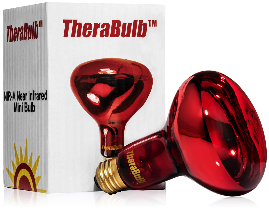 Near Infrared Silicone Coated Safety Bulb - Small Form 150 Watt