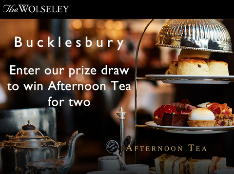 Win Afternoon Tea tea for two